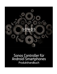Sonos Controller für Android - Almando