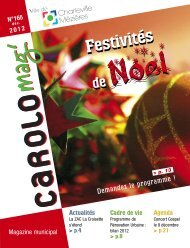 Carolo mag' n°165 - Décembre 2012 - Charleville-Mézières