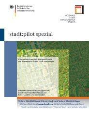 stadt:pilot spezial - Nationale Stadtentwicklungspolitik
