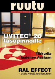 Tikkurila Coatings Asiakaslehti No36 2008