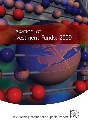 Taxation of Investment Funds: 2009 - BMR & Associates