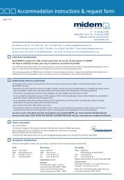 Accommodation instructions & request form - Buma Cultuur