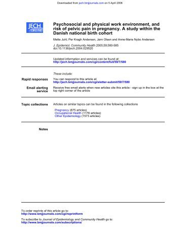 Cohort Profile: The 1895, 1905, 1910 and 1915 Danish Birth ...