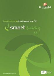 SMART ENERGY - E-world