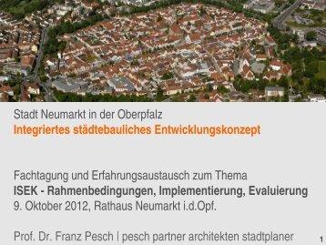 Zukunftsmodell Region? Nachhaltige Stadtentwicklung im Zeitalter