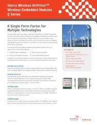A Single Form Factor for Multiple Technologies ... - Richardson RFPD