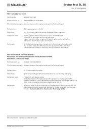System test SL 25 - Lito Byg A/S
