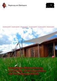 Energetische Modernisierung von Schulen, Kindertagesstätten und ...