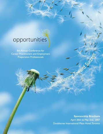 Sponsorship Brochure - ONESTEP