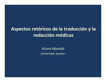 Aspectos retóricos de la traducción y la redacción ... - Tremédica