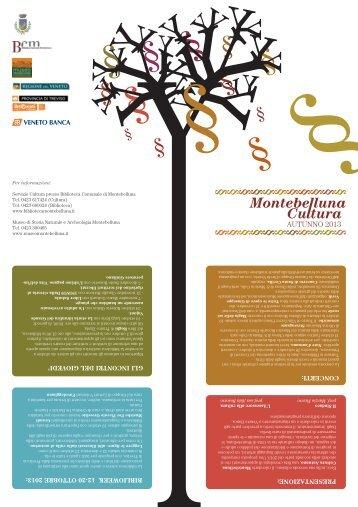 Montebelluna Cultura Autunno - Biblioteca Comunale di Montebelluna