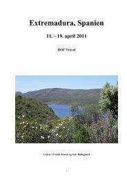 Rapport Extremadura.pdf - DOF Travel