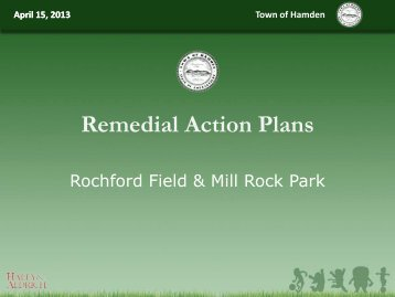 Meeting presentation - Newhall Remediation Project