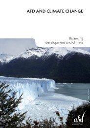 AFD AND CLIMATE CHANGE - Agence Française de Développement