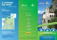 S. CATERINA DEL SASSO - Varese Land of Tourism