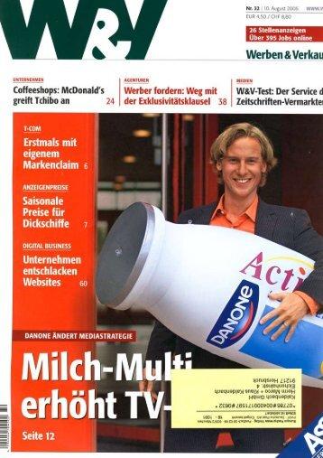 2006-08 W&V- Thema Katalog - Kaldenbach