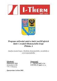 A - Analyt. část 1 - Olomoucký kraj