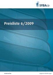 Preisliste 6/2009 - ebea