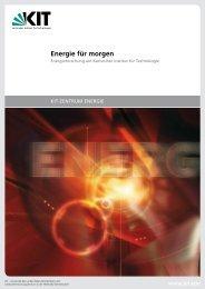 energieumwandlung - KIT - Zentrum Energie