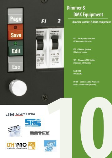 Dimmer & DMX Equipment - LTH-GmbH