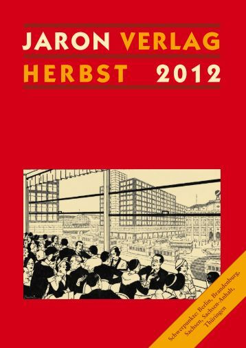Jaron Verlag Herbst 2012