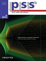 basic solid state physics - Instituto de Física - Universidad Nacional ...