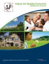 IAQ/ASHRAE 62.2 Brochure - Soler & Palau