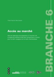 Branche 6 - routiers.ch