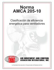 Norma AMCA 205-10 - Air Movement and Control Association