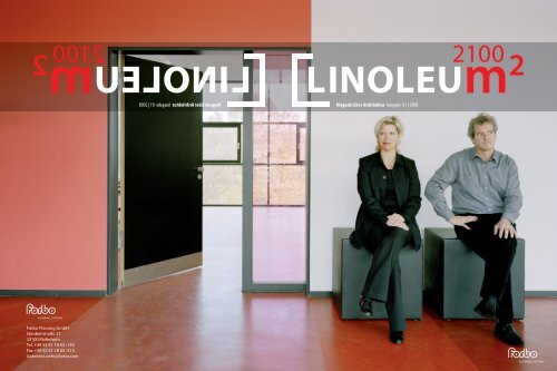 Magazin über Architektur Ausgabe 01 | 2008 Magazin über - Forbo