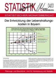 Die Entwicklung der Lebenshaltungskosten in Bayern - Statistik ...