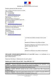 CIRCULAIRE N°DGOS/USID/R3/DREES/196 du 14 ... - Circulaires