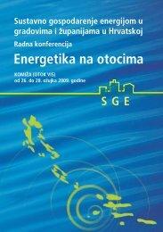 Konferencija Energetika na otocima - brošura konferencije - EE