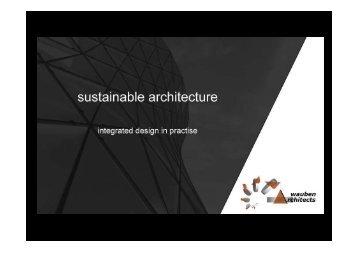 Presentatie Paul Bergmans- Wauben Architecten - Bouwlokalen