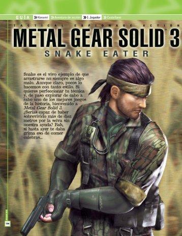 Descargar Metal Gear Solid 3 - Mundo Manuales