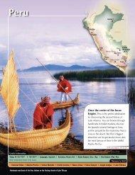 Peru - Avanti Destinations