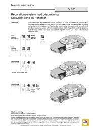 V 8.2 Reparations-system med udsprøjtning Glasurit® Serie 55 ...