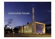 Islamisches Forum Penzperg - Plattform für Menschenrechte Salzburg
