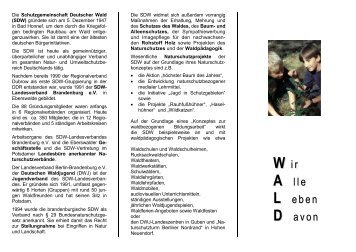 Organigramm - SDW