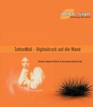 DS TattoWall Übersicht1 - Deko-Sign