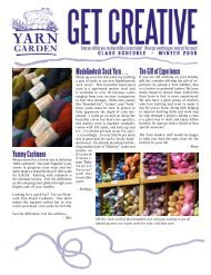 Yummy Cashmere The Gift of Experience ... - Yarn Garden