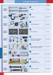 Instrumente de măsură - Rocast