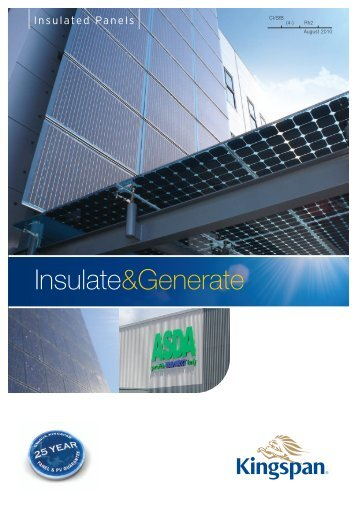 23/2722 PV Brochure V2:2010 - Kingspan PowerPanel