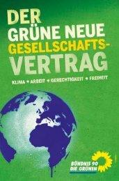 Wahlprogramm 2009 - Bundesverband von Bündnis 90/Die Grünen