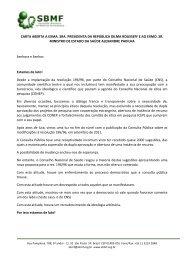 carta aberta a exma. sra. presidenta da república dilma ... - IPD-Farma
