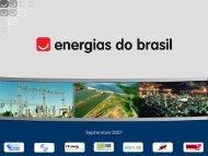 Installed capacity - EDP no Brasil | Investidores