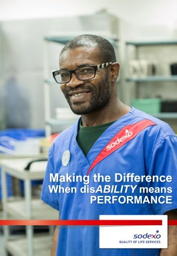 Making the Difference When disABILITY means PERFORMANCE