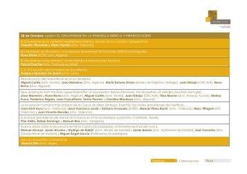 Programa del Coloquio Internacional Gravetiense Cantábrico ...