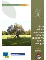 Tržište rezidua maslina u funkciji obnovljivih izvora energije
