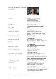 Prof. Dr.-Ing. Andreas Schrader Lebenslauf